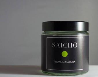 Saichō Premium Matcha - Made in Japan - Organic