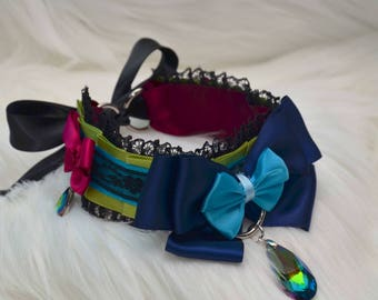 BDSM/DDLG/Kitten Play Collar - Bold and Elegant Kitten Play Collar
