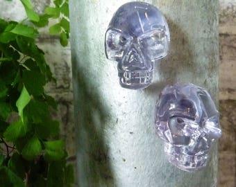 Funky Skull Fridge Magnets, Home Decor, Resin Skulls, Halloween