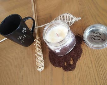 Coffee Mocha Cappuccino Soy Candle
