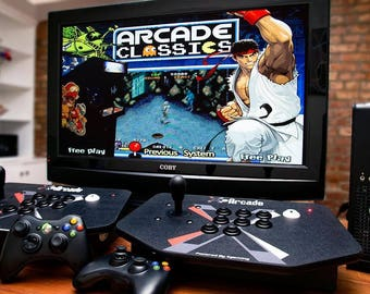 MAME Hyperspin Ultracade Arcade Machine PC Plays 30K+ Games