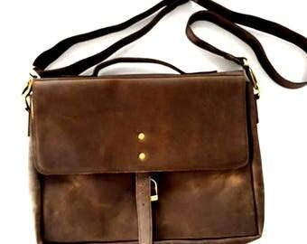 Resa Woven Messenger Bag