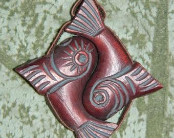 "Talisman of love ""Yin-Yang""! Very strong! The talisman has a strong aroma of Siberian cedar! Only natural materials! Handmade!"
