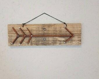 Arrow Sign Handmade in MT