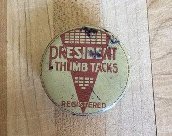 President Thumb Tacks Case, Registered, Austria, Little Brads