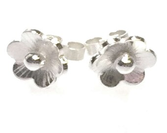 Cherry Blossom Style Stud Earrings