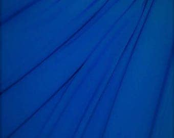 Jersey Royal Blue Fabric, Jersey Blue Material Sold By the Yard