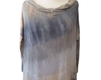 Italian Style Lagenlook Ladies Tunic Top Blouse Plus Size 16 18 20