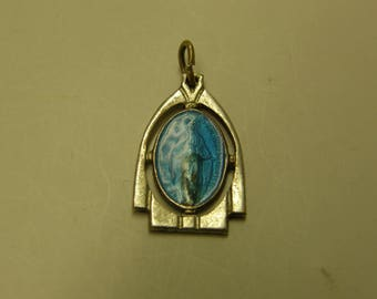 Religious Pendant - Sterling Silver