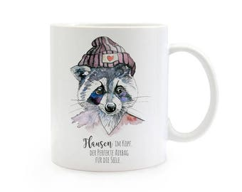 Gift Cup raccoon ideas in my head TS326