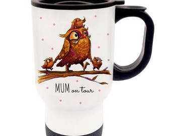 Thermo Cup mum OWL OWL family TB59
