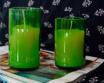 Green Grackle Candle