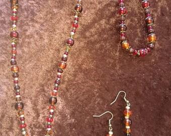 Jewelry set sparks