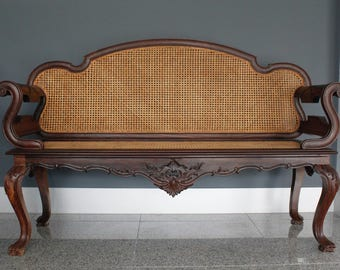 Lignum Vitae bench