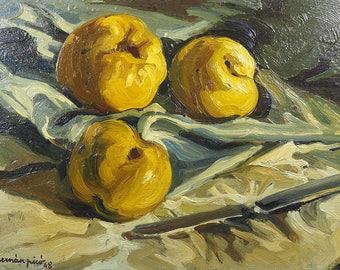 Hernan Picó (1911-1994)-Oil on Board-Still Life-1948