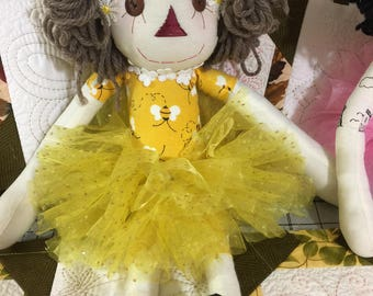 Bumblebee princess doll