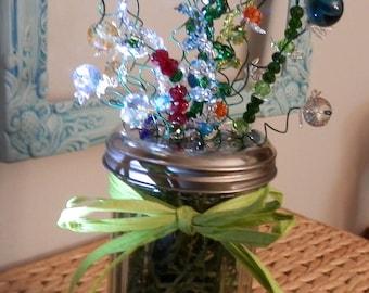 Beaded Floral Arrangement