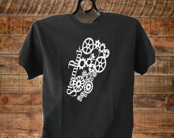 Steampunk shirt, Steampunk tshirts, Punk, Mouse, Gears, Time Travel, Print Graphic Tees, Steampunk Tops, Whiskey Shirts, Clothing, Shirts