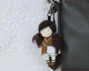 Keychain doll