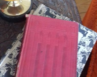 Vintage book The Golden Treasury c1900 poems Palgrave McMillan & Co