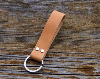 Key chain. Leather