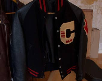 Original vintage college jacket S