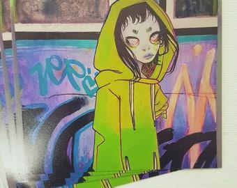 nim downtown - 4x4 mini prints