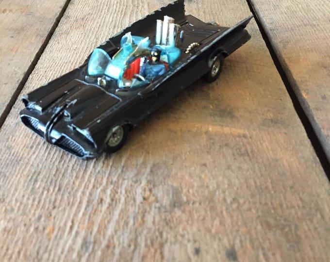 Super Rare Corgi 1960s vintage Batmobile!