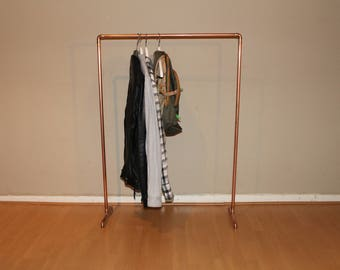 Garment racks Gaderobenstange industrial copper tube #1