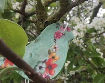 Ceramic Hanging Bird Ornaments