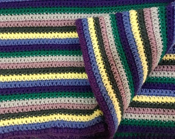 Custom Crochet Blanket (Color Block, Granny Squares, or Baby Blankets!)