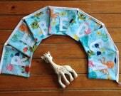 Sea-themed handmade personalised bunting baby gift