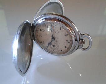 FOB Pocket Watch chronometer Golf F.SENN