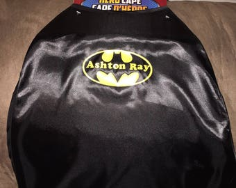Personalized Kids Superhero Capes