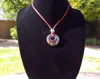 Washer Necklace, Hippie Jewelry, Western Jewelry,