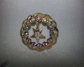 Vintage Easter Star Pin