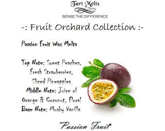 Passion Fruit Wax Tarts Chunk Muffin