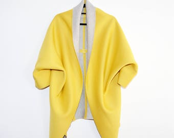 PERT Yellow Cardigan
