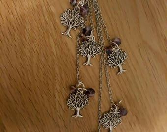 Tree of life handbag / purse charm/ key ring