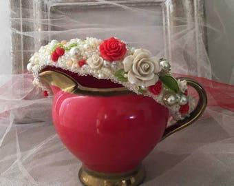 Berry Joy Flower Headband