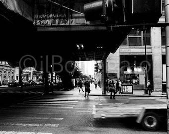 """""""Chicago Street"""" 20x30cm Fujifilm Paper"""