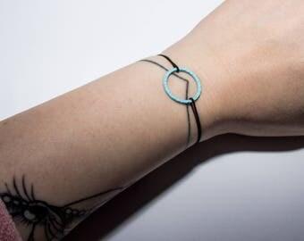 Bracelet circle | Minimalist geometric