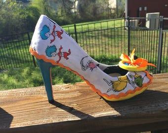 Dr. Seuss Shoe Re-Fashion