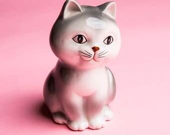 Vintage Ceramic Kitty Bank