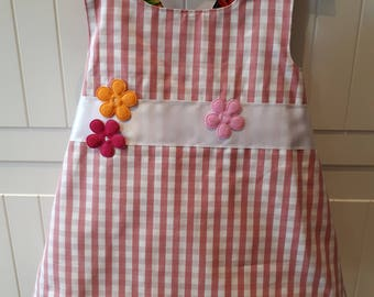Handmade reversible swing dress. 9-12 months