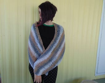 "Scarf or Shawl or Wrap. triangle  - 36"" by 46"""