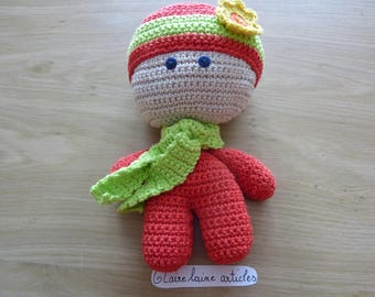 little doll to crochet