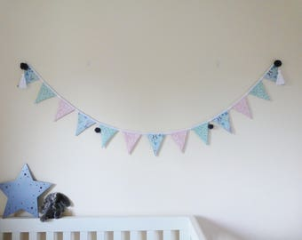 Bunting / Nursery / Home Decor / Spring