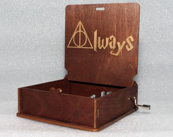 "Harry Potter - After All This Time? Always Severeus Snape And Lily Potter - ""Harry's Wondrous World"" - Hand Crank Movement"