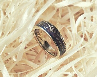 Ring from coin 10 agor. Country: Israel